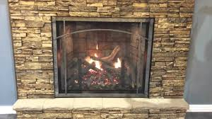 empire rushmore clean face fireplace with true flame technology