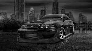 toyota mark2 jzx1 jdm side crystal city car