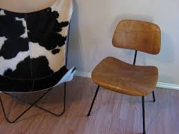 knoll eames chair. Eames DCM In Walnut And Knoll Hardoy BKF Chair