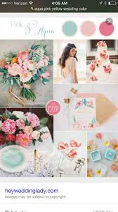 11 fresh summer wedding palettes from peony pink and champagne, bold blue  and berry, seagrass and bronze, pink and aqua, and vibrant summer citrus!