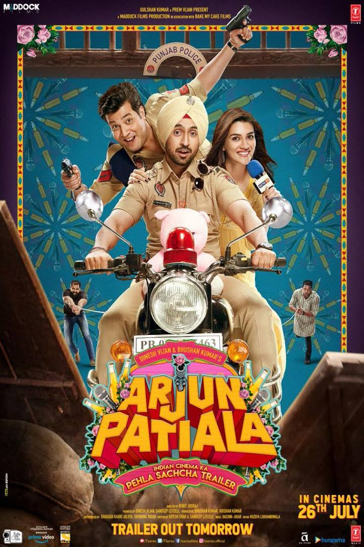Arjun Patiala 2019 Full Hindi Movie 480p