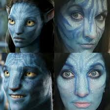na vi avatar makeup avatar navi makeup kit