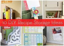 Image Peninsula Roundup 10 Diy Recipe And Cookbook Storage Ideas Curbly Roundup 10 Diy Recipe And Cookbook Storage Ideas Curbly