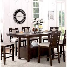 dining room table and chairs winston porter nika 7 piece dining set reviews of