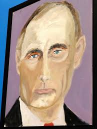 vladimir putin portrait by george w bush
