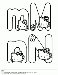 Get free high quality hd wallpapers hello kitty coloring pages with letters