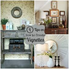 Vignette Design How To Create A Vignette Do It Yourself Decorating