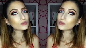 strawberry sorbet fresh summer makeup tutorial