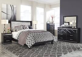 bedroom furniture black and white. Ashley Fancee B348 Bedroom Furniture Black And White L