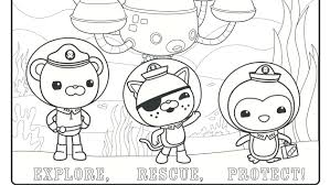 Small Picture Octonaut Coloring Pages 13 Cartoon Funny Octonauts Coloring