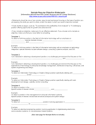 Job Objective Statements How To Write Career Objective With
