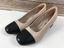 Chartli Deva Pump Clarks Chartli Rose Leather Pumps Womens Size 9 5m Black
