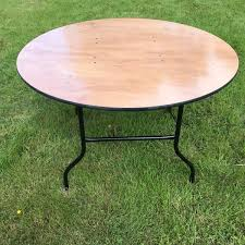 round fold leg tables for