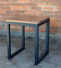 industrial themed furniture. edge wood industrial side table themed furniture
