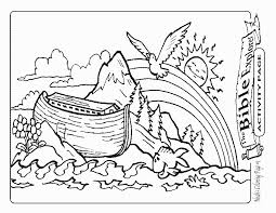 Small Picture Coloring Page Of Noahs Ark With Animals Coloring Pages