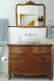 vintage bathroom vanity mirror. Antique Dresser Bathroom Vanity 171 Best Old Dressers Inside Decorations 10 Vintage Mirror Y