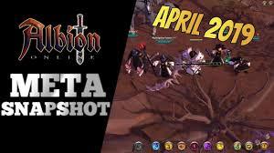 Online Snapshot Albion Online Meta Snapshot April 2019 Crossbow Chaos