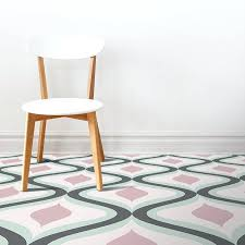contemporary vinyl flooring image of our geometric home decor pattern printed as modern vinyl flooring from