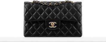 Small classic handbag, lambskin & silver-tone metal-black - CHANEL & Classics Adamdwight.com