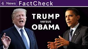 President Obama Accomplishments Chart Trump Vs Obama In Numbers Channel 4 News