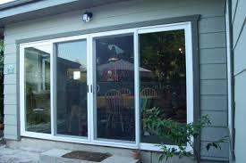 image of 3 panel sliding glass doors