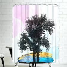 palm tree shower curtain palm tree shower curtain