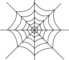 Spider Pattern Printable Spider Web Cut Out Template Spider Printable Web Template