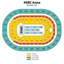 Buffalo Sabres Arena Seating Chart Keybank Seating Buffalo Sabres Promo Code For All Levels Of