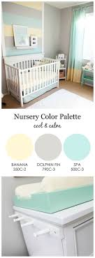 Cool and Calm, Gender Neutral Nursery - love the mint green, gray and light