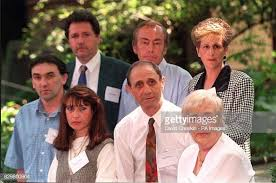 Back row; Steve Dunn and Clifford and Linda Tiltman with Ivan Dunn,... News  Photo - Getty Images