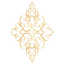 Simple Stencil Designs Designer Stencils Simple Diamond Medallion Wall Stencil