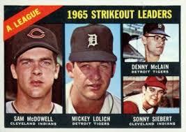 Sonny Siebert Baseball Cards