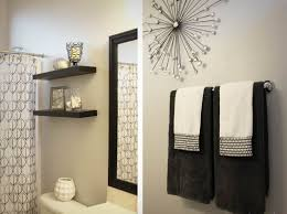 Terrific Stupendous Bathroom Towel Decor 10 Hanging Ideas Of ...