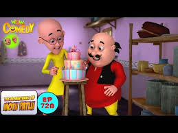 Смотреть видео cake peion motu patlu in hindi 3d animated cartoon series for kids as on nick онлайн скачать на мобильный