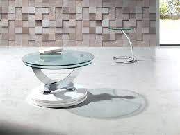 swivel coffee table inspiration modern round coffee table white gloss swivel coffee table