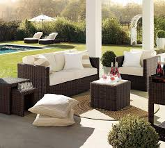 outdoor living room sets. fantastice outdoor sitting room furniture set using black wicker sofa sets plus white padded also stripes living