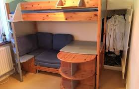 single bedroom medium size bunk bed sofa single bedroom loft with desk and couch loft