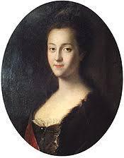 Екатерина ii Википедия Екатерина после приезда в Россию портрет кисти Луи Каравака