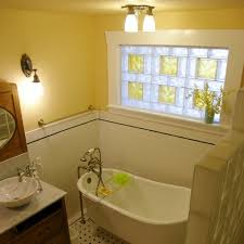 Ways To Brighten Your Home With Vinyl Framed Glass Block Windows - Decorative glass windows for bathrooms