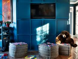 How To Hide Tv How To Hide A Flat Panel Tv With Wall Paneling Hgtv
