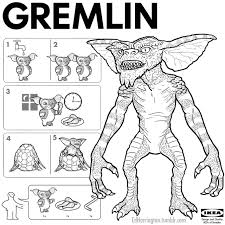 9 Gremlin Drawing Line For Free Download On Ayoqqorg