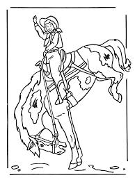 Meisje Op Paard 2 Kleurplaten Paarden
