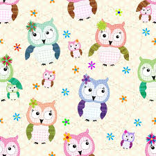 Owl Pattern Magnificent STOCK DESIGNS CUTE OWL PATTERN