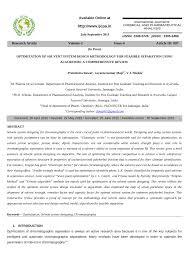 Pdf Optimization Of Solvent System Design Methodology For