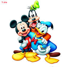 new diy 5d diamond painting animal donald duck mickey minnie full square diamonds kits embroidery diamond