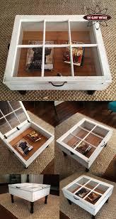 15 Beautiful Cheap DIY Coffee Table Ideas diy crate coffee table ideas