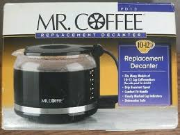 Replacement coffee carafe is designed for the mr. Coffee Pd12 10 12 Cup Mr Coffee Replacement Glass Carafe Decanter New Mr