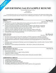 Advertising Resumes Free Resume Images