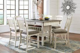 white rectangular dining table. Ashley Bolanburg 40\ White Rectangular Dining Table