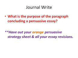 journal write what is the purpose of the paragraph concluding a journal write what is the purpose of the paragraph concluding a persuasive essay